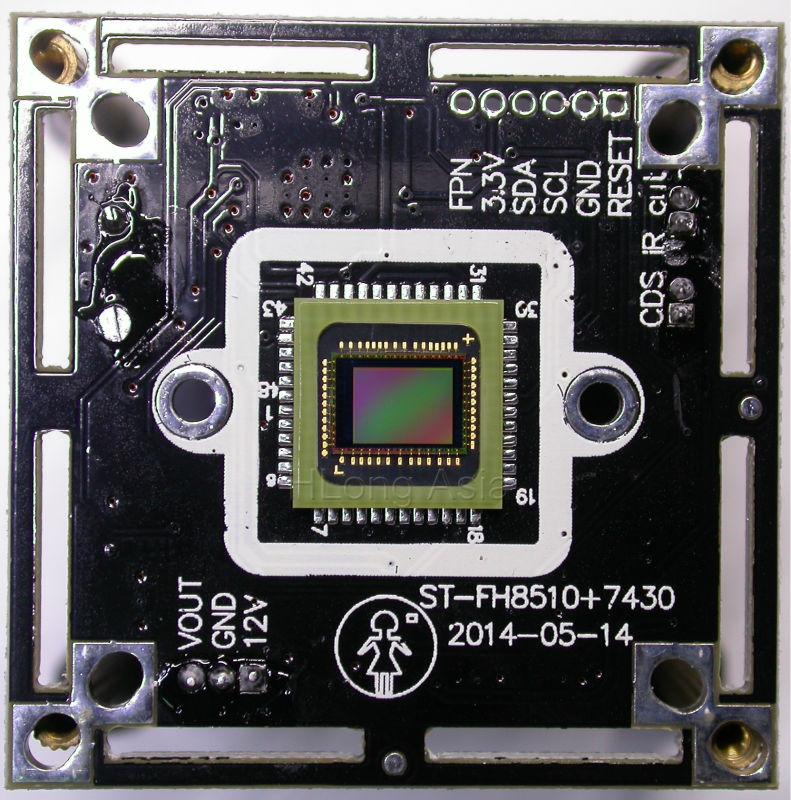 1 3 Quot Cmos Image Sensor 7430 Fh8510 Cctv Camera Module