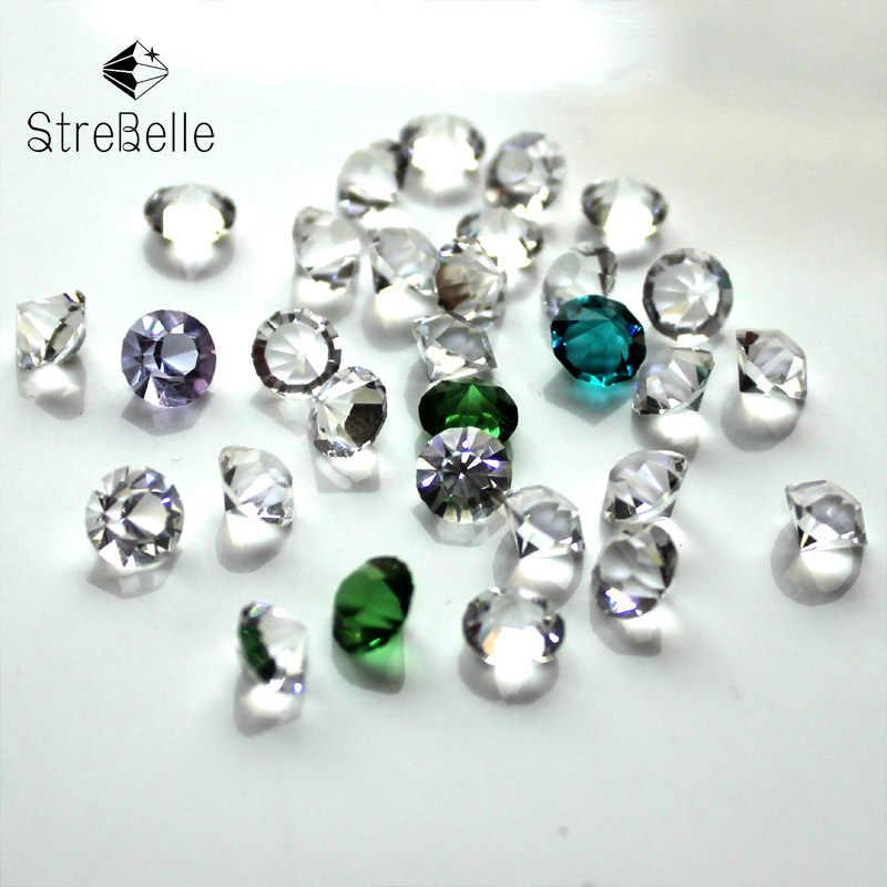 StreBelleรูปทรงกรวยหิน4x6มิลลิเมตรไม่มีหลุมลูกปัดเครื่องประดับแฟชั่น100ชิ้น