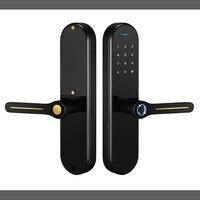 YOHEEN цинковый сплав безопасность электронный цифровой отпечаток пальца дверной замок без ключа вход Пароль замок двери сенсорная клавиатур