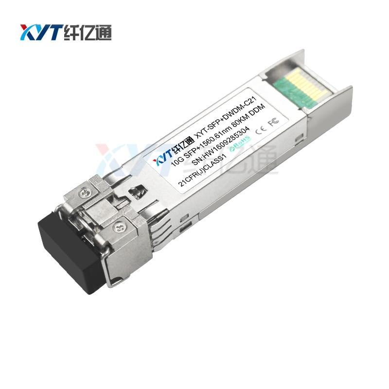 C21-C60 ITU hullámhossz 80km 10G DWDM SFP + ZR száloptikai - Kommunikációs berendezések - Fénykép 1