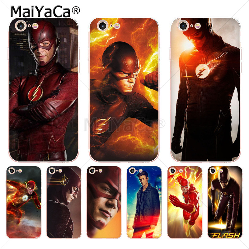 MaiYaCa The Flash barry allen Fashion Luxury phone case accessories for