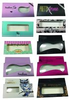 Private Label 3D Fake Eyelashes Extension 1000 PCS Eyelashes Boxes