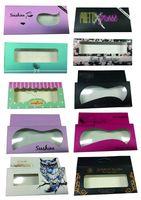 Private Label 3D Fake Eyelashes Extension 1000 PCS Eyelashes Boxes
