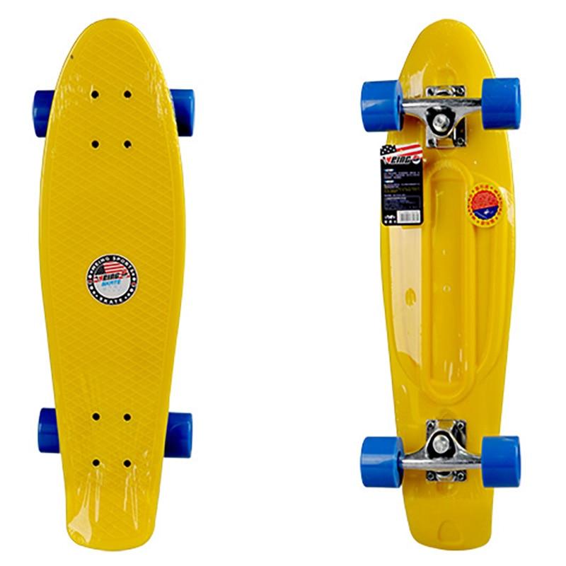 WEING 538 d'inclinaison Unique type de Poisson Planche À Roulettes Penny Skate Board Pont KayKay Patène