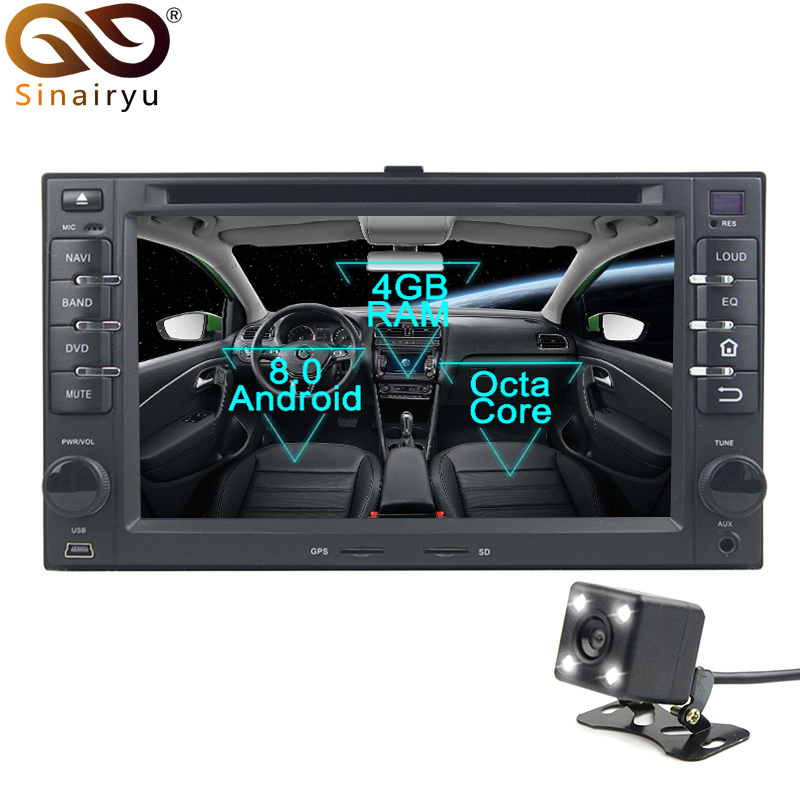 2 Din Android 8,0 Octa Core dvd плеер автомобиля для Kia Cerato Sportage Ceed Сорен gps Navi Мультимедиа Радио стерео головное устройство
