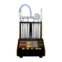 AUTOOL CT-150 4 Cylinder Ultrasonic Fuel Injector Cleaner Tester 220V/110V Small Size for Petrol Car Motorcycle Injector autool ct200 car fuel injector cleaning machine auto ultrasonic cleaner tester 6 gasoline cylinders better than launch cnc602a