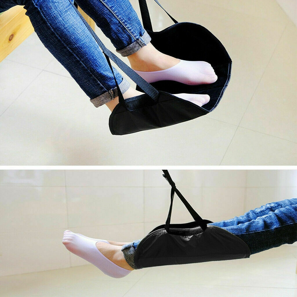 Comfy Hanger Travel Airplane Hammock Foot Footrest Made with Memory Foam Premium image