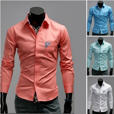 Online Shop Free Shipping New Men's Shirts,Stylish men essential ...