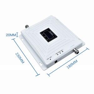 Image 4 - を Lintratek 2 グラム 3 グラム 4 グラムトライバンド携帯信号リピータ GSM 900 1800 2100 DCS WCDMA 信号ブースター携帯電話アンプ GSM 3 グラム 4 グラム @ 5