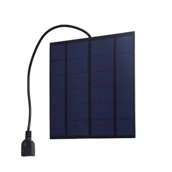 5W Solar Camping Panel