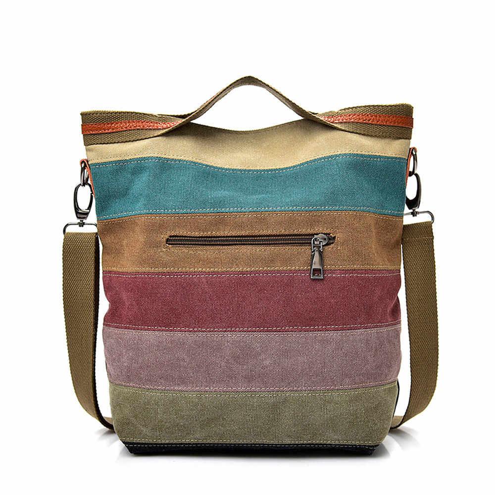 b162b8286ed9 ... Женская холщовая тканевая сумка через плечо сумки через плечо для  женщин сумки-мессенджеры школьная сумка ...