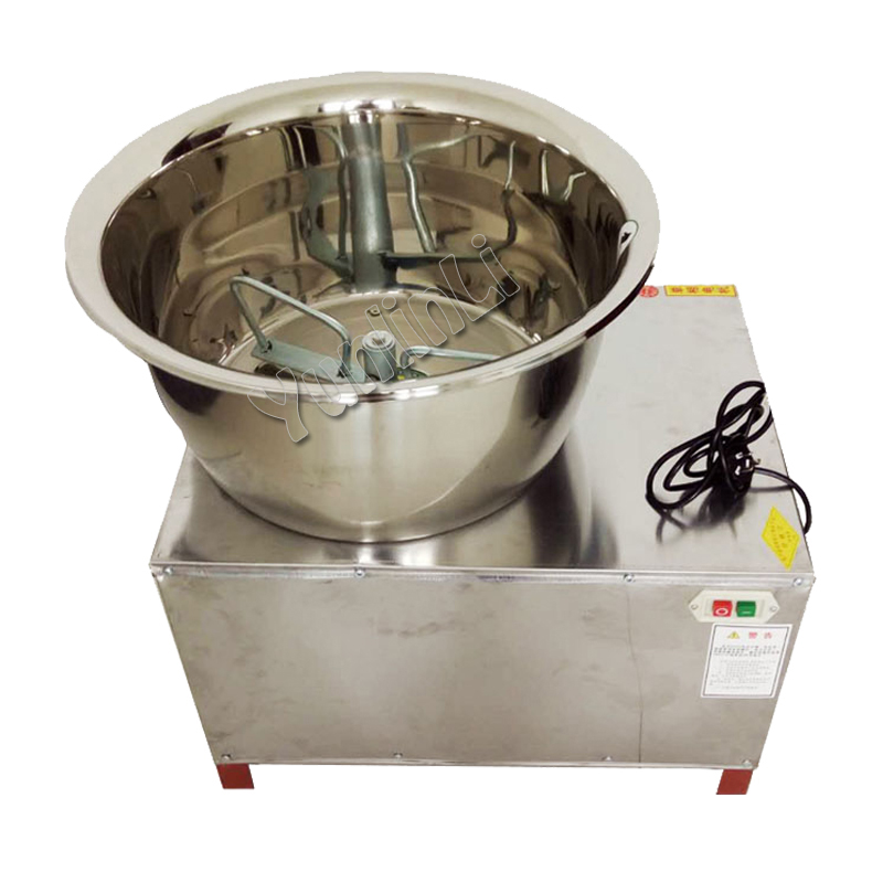 Electric Dough Kneading Machine Commercial Dough Machine Automatic Dough Mixer 30kg Stainless Steel Dough Mixer Labor-Saving new premium high quality stainless steel commercial dough ball making machine automatic dough divider rounder for small business