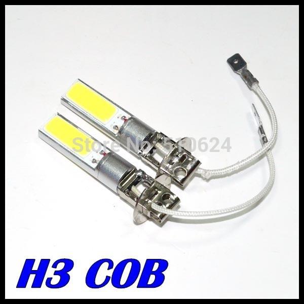 2Pcs/Lot High Power H3 LED 20W 10W cob led Super Bright H3 COB Car Vehicle LED White Day Driving Fog Light Bulb Lamp zоом 3 day white with acp excel 3