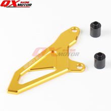Billet Front Sprocket Chain Guard For RMZ250 07-16 08 09 10 11 12 13 14 15 RMZ450 05-16 2016 free shipping
