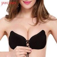 Women Instant Breast Lift Invisible Silicone Push Up Bra strapless bra 3/4 wireless bras SE11