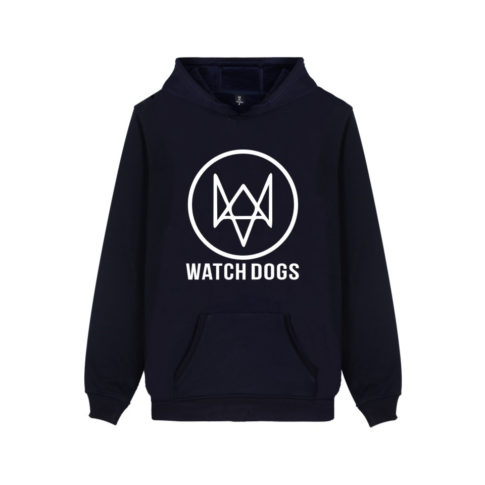Action-Adventure Video Game Watch Dogs 2 Hoodies Men Women Cotton Fashion Casual Clothing Print WATCH_DOGS 2 Hooded Sweatshirts