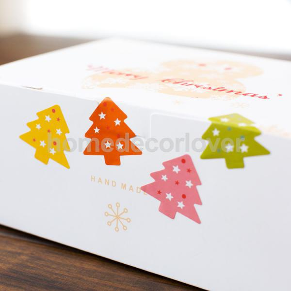 10 pages christmas gifts seals sheet tags envelope stickers labels