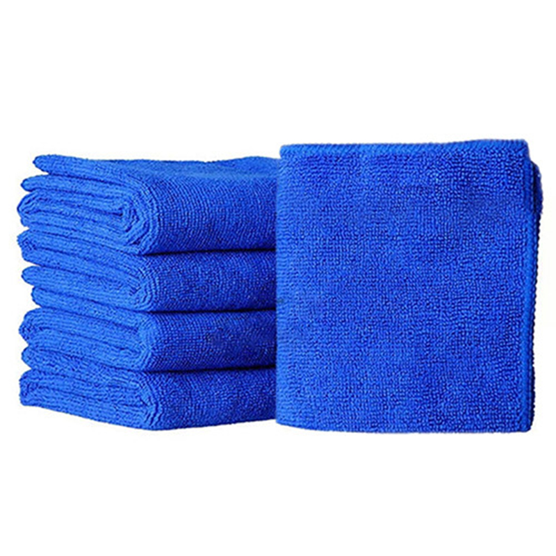 Auto Care 10PCS Ultra Soft Microfiber Towel Car Washing Cloth for Car Polish& Wax Car Care Styling Cleaning Microfibre30x30cm ...