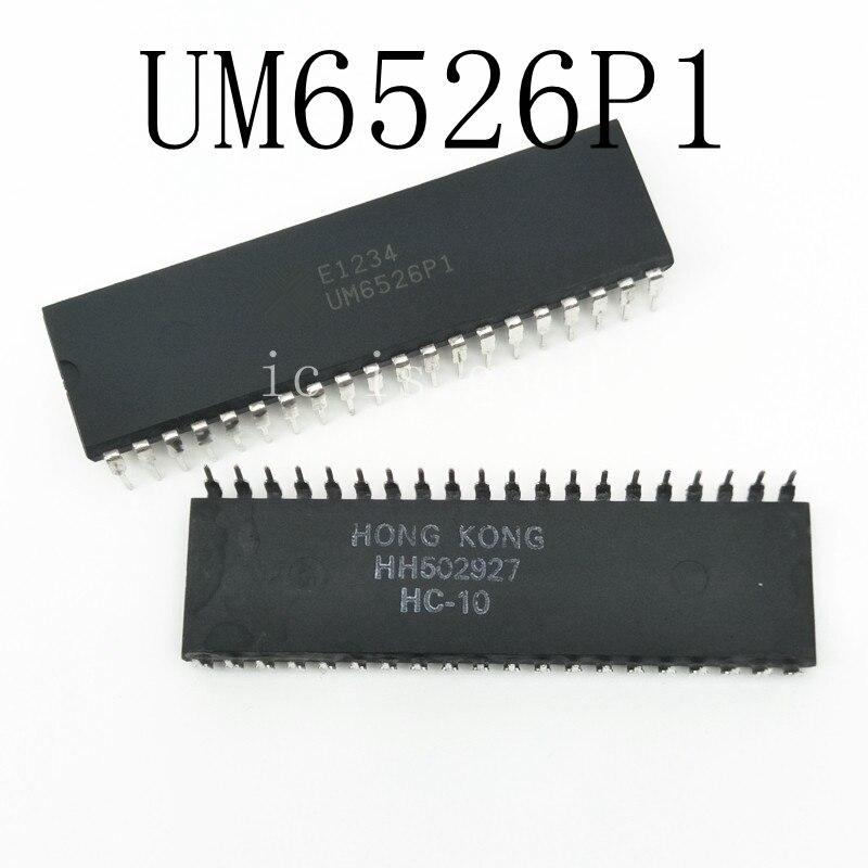 1PCS UM6526P1 UM6526P UM6526 DIP-401PCS UM6526P1 UM6526P UM6526 DIP-40