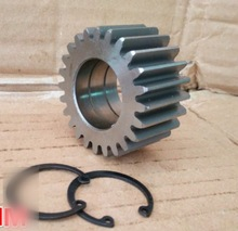 Diameter:51.5mm  Inner Hole:28mm Thickness:15mm 24T Electric Tricycle Steel Gear