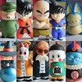 FÃS MODELO em stock-dragon ball z Son Goku Oolong-Roshi Muten Baba Uranai Imperador Pilaf Puar Son Gohan Kuririn figura pvc brinquedo