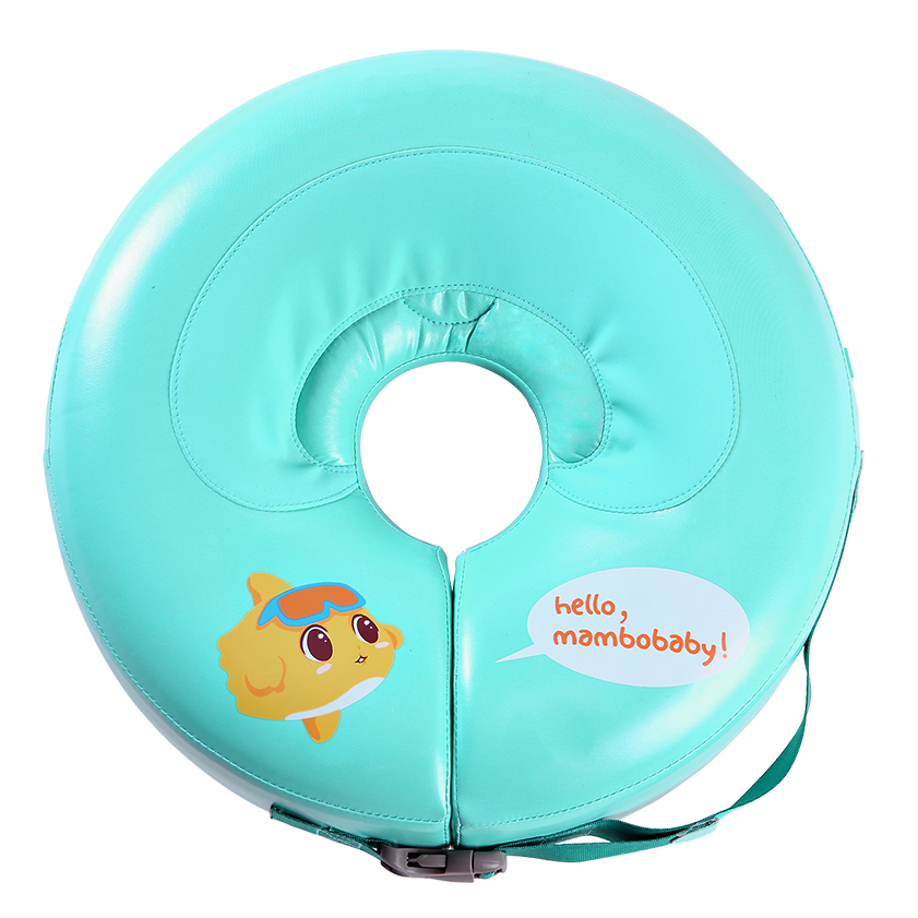 Baby non-inflatable Neck swim ring More Safety Swimtrainer no need pump air free inflatable swim ring baby bath toy neck ring neck ring no need pump air more safety non inflatable swim ring free inflatable baby neck swimming ring 3 36months bath toy gift