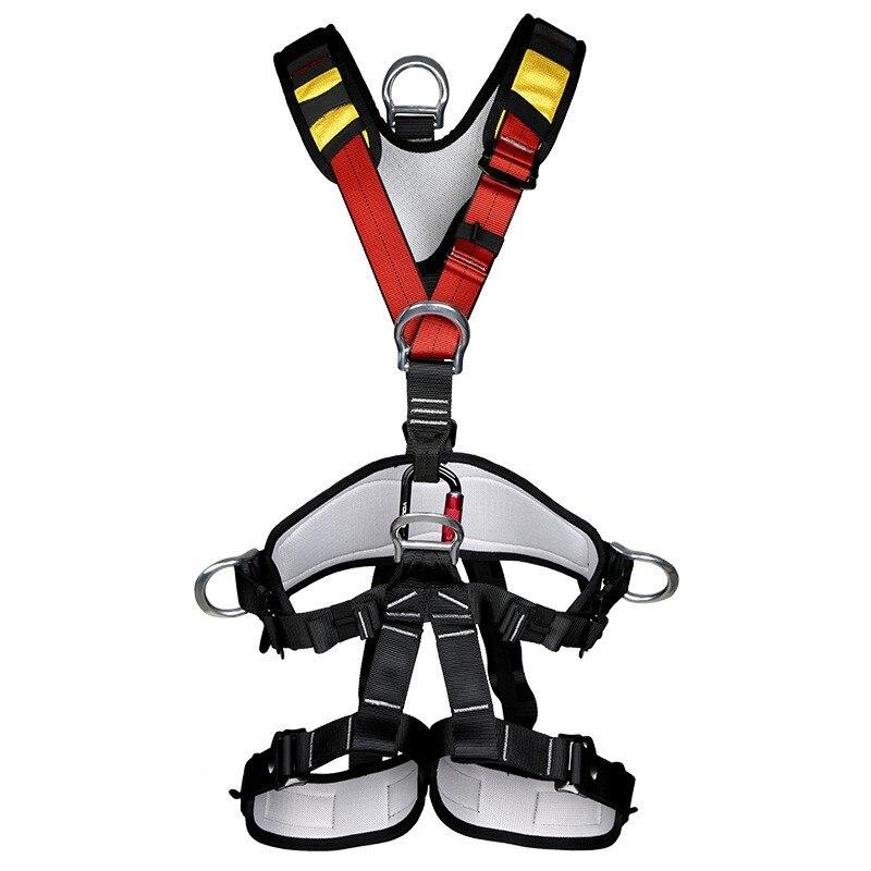 Ceinture de sécurité de travail aérien escalade corps de sauvetage à l'envers ceinture de sécurité confort équipement d'escalade de sécurité complète