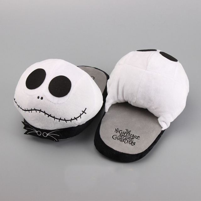10 slippers peluche plush toy halloween jack skellington nightmare before christmas wacky winter shoes gift