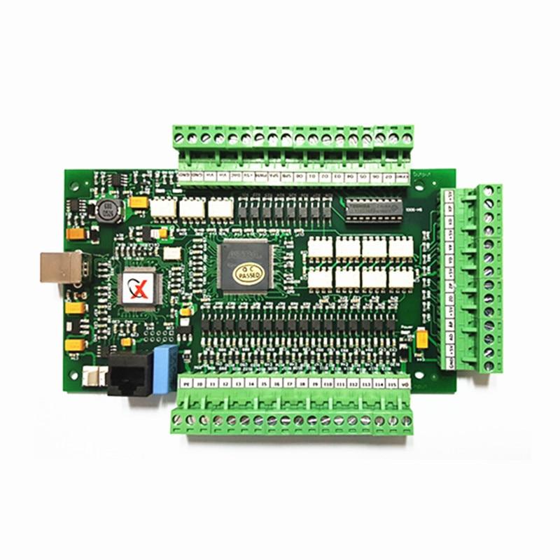 CNC mach3 USB 4 Axis motion card Controller Breakout USBCNC Smooth Stepper Motion card