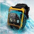 Esporte bluetooth ips tela smart watch relógio de pulso uterra u à prova d' água para iphone 4/4s/5/5s/6/6 plus samsung s6/s5/s4/s3/note 3