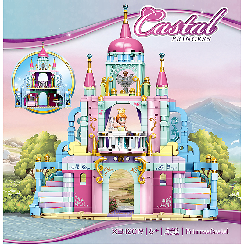 Xingbao 12019 Snow White Princess Castle Building Blocks Compatible with LOGO Blocks for Girls 39 s Dream Princess Castle Toys in Blocks from Toys amp Hobbies