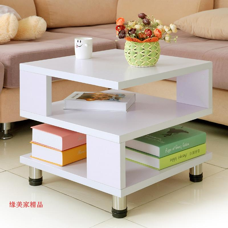 simple small apartment coffee table square sofa side a few
