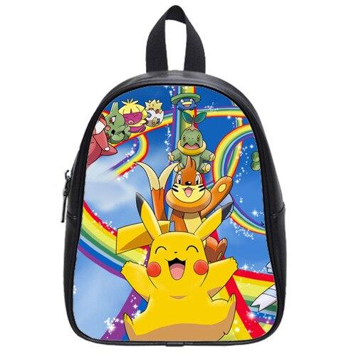 d'enfant Pikachu personnalisé cuir Pokemon originale Sacs d'école en Rqp5Hg