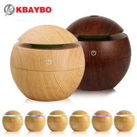 USB Aroma Essential Oil Diffuser Ultrasonic Cool Mist Humidifier Air Purifier 7 Color Change LED Night