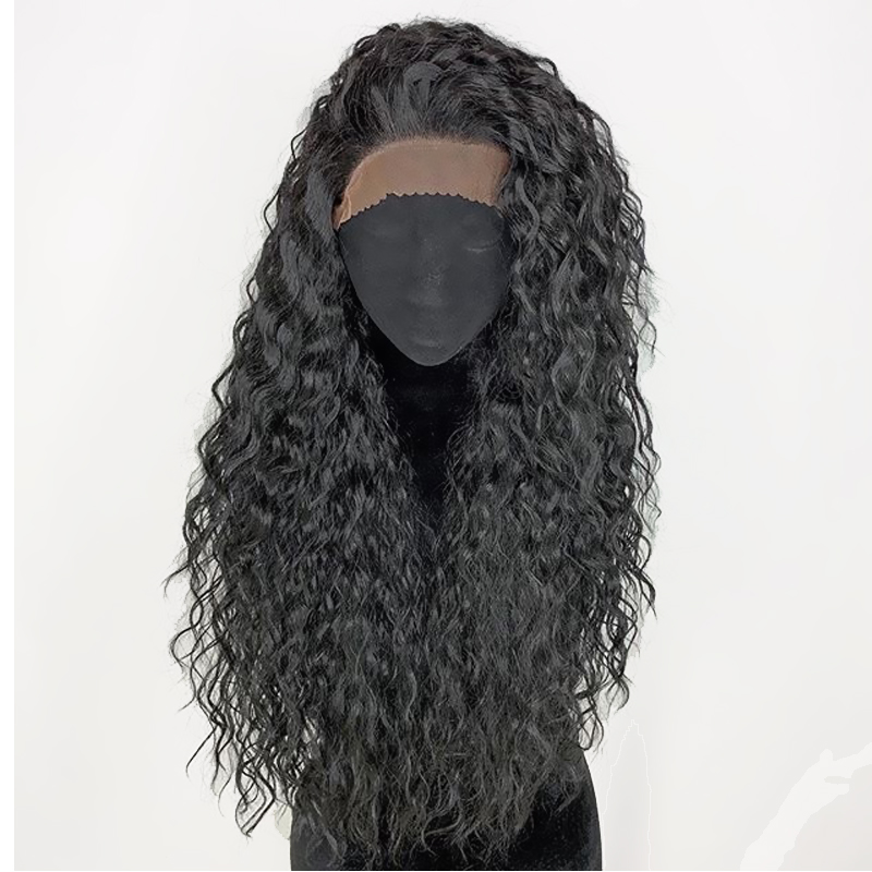 360 Full Lace Frontal Water Wave Remy Real Long Human Hair Wig For Black American Women Brazilian Closure PrePlucked Atina Wigs-in Human Hair Lace Wigs from Hair Extensions & Wigs    1