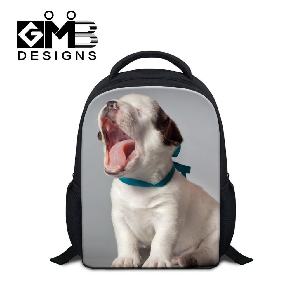 Dispalang 3D Dog Kindergarten School Bags Animal Printing Cat Kids Backpack For Girls Boys Children Book Bags Mochila Infantil