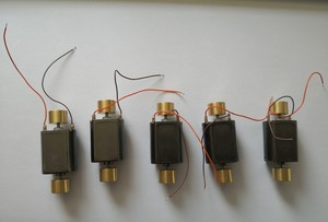Image 2 - 5 adet/grup 1/87 Model Tren Ho Ölçekli Diy Aksesuarları 12 V Motor 9500 RPM (dahil volan) Ücretsiz Kargo