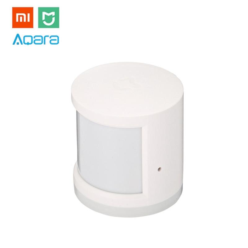 Xiaomi MIJIA Aqara Human Body Sensor Mi Motion Sensor ZigBee Version Smart Home Linkage for Mi Home APP Wireless Connection цена 2017