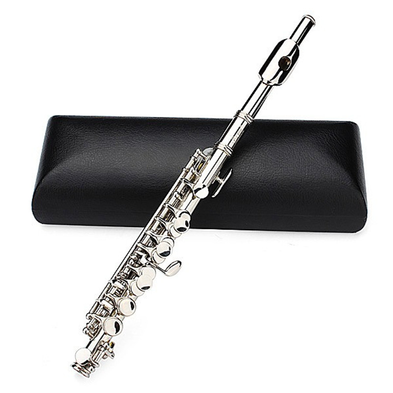 BULUKE Free shipping Silver Plated C Piccolo Flute With Case Musical Instrument factory direct диски helo he844 chrome plated r20