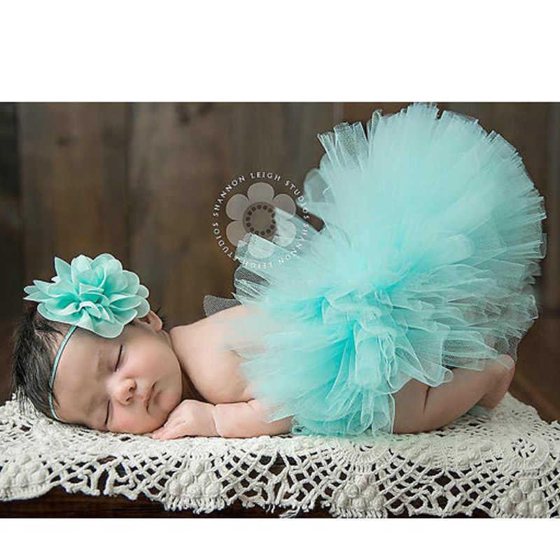 None Xiascas Girls Tutu Skirt,Bowknot Dress Headband Baby Clothes Photography Prop Costume,white