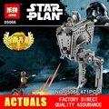 Lepin 05066 Nuevo 471 Unids AT-ST de STAR WARS Juguetes Walker 75153