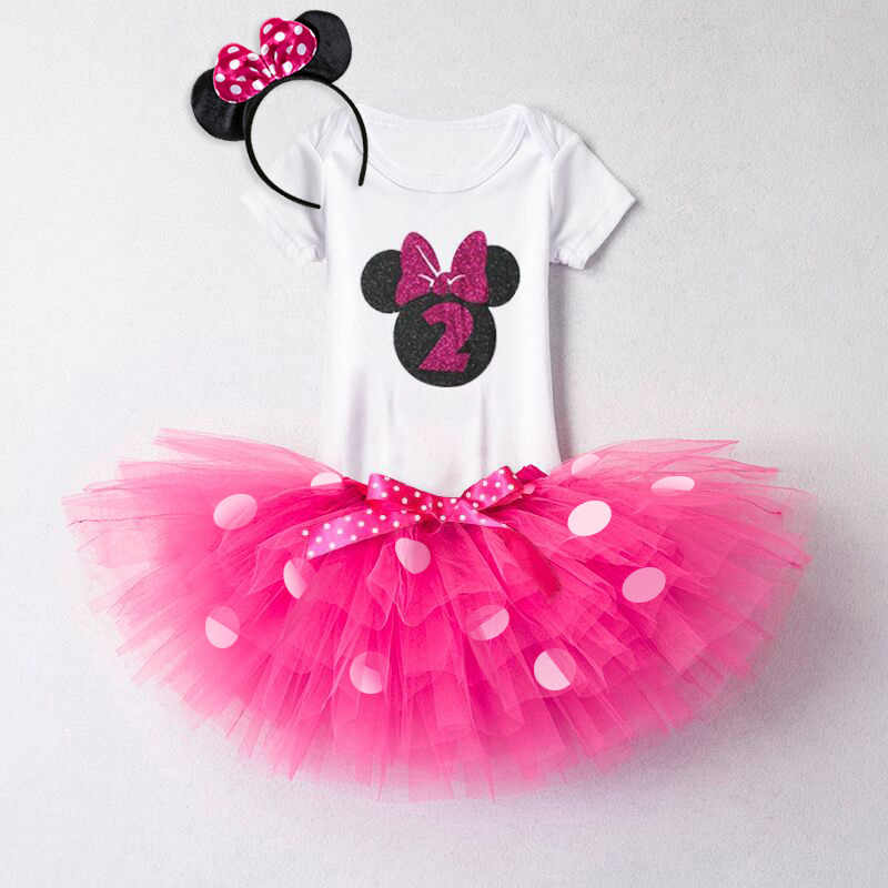 1 2 Year Baby Sets Newborn Girl 1st 2nd Birthday Cake Smash Outfit Toddler