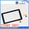 "Original 7"" inch Tablet Touch Screen Digitizer Glass Replacement Parts For Y7Y007 (86V) TPT-070-134 ZHC-059B Free shipping"