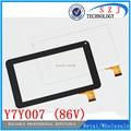 """Original 7 """"pulgadas Tableta de Pantalla Táctil de Cristal Digitalizador de piezas de Repuesto Para Y7Y007 (86 V) TPT-070-134 ZHC-059B Envío gratis"""