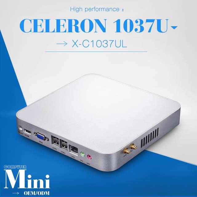 7f5ab2aab0ee placeholder Puede Fabricación Personalizada CPU Celeron G1610 Celeron G540  X26-C1037ul Mini Pc Linux Embebido Cliente