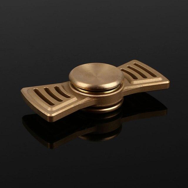 Fidget Spinner EDC Torqbar HandSpinner Spin Toy Ceramic Bearing Toy Golden