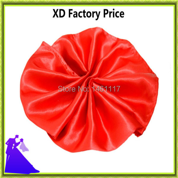 Factory price satin fabric table napkin for hotel&restaurant free shipping