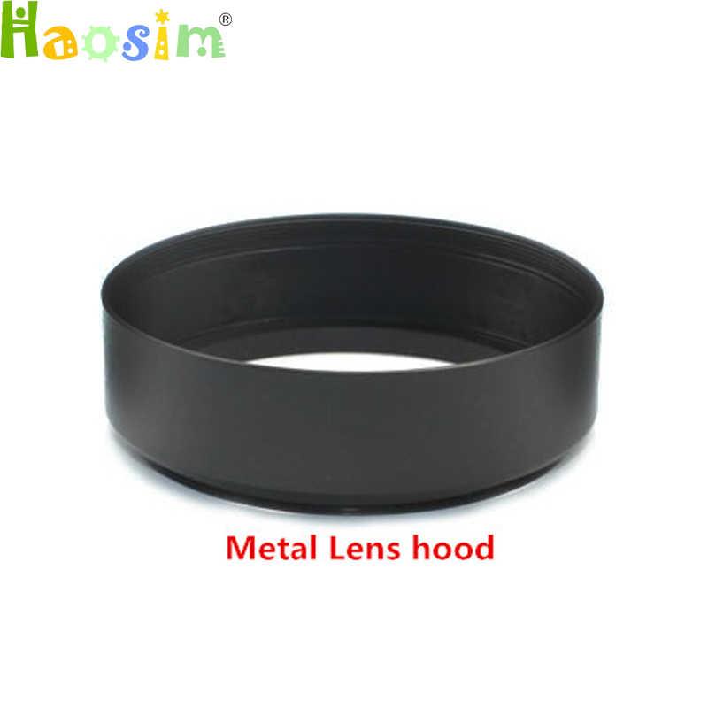 40.5 49 52 55 58 62 67 72 77 milímetros de Metal LENS HOOD para canon nikon Pentax sony