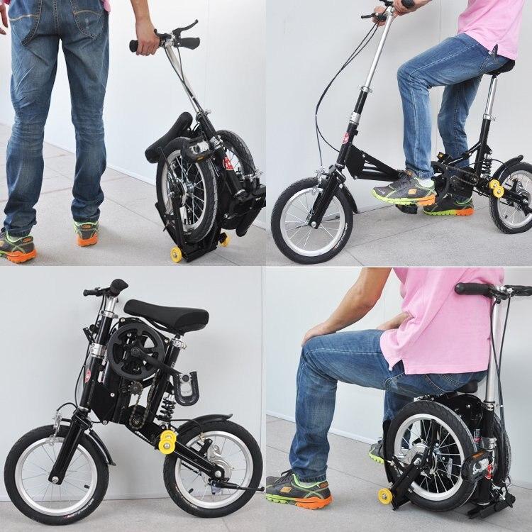 Mini Vélo Pliant Portable Montagne Bicyclette de Route En Aluminium Cadre Ville Sport Vélo avec Freins Mécaniques