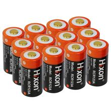 12pcs RCR123a 700mAh 16340 rechargeable battery for Arlo HD Camera and Reolink argus 3.7V cr123a rechargeable стоимость
